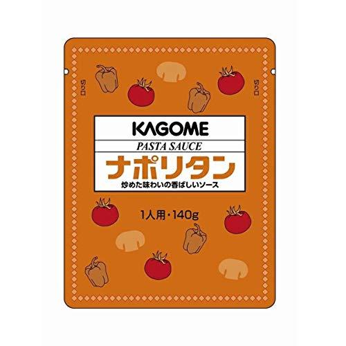 【常温】 カゴメ ナポリタン パスタソース 140g×10袋 業務用 トマト 洋食 大容量