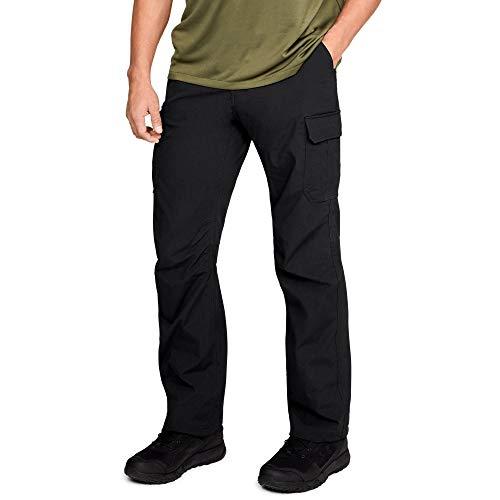Under Armour Men's Tactical Patrol Pants II , Ultimate Black (008)/Ultimate Black , 34/32