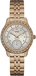 Guess Whitney Women's Mother of Pearl Dial Stainless Steel Watch - W0931L3
