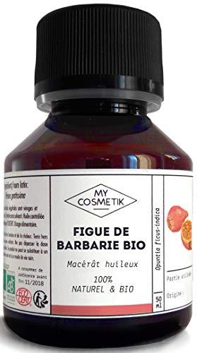Macérât huileux de Figue de Barbarie BIO - MyCosmetik - 50 ml