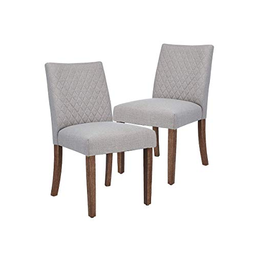 Set Of 2 CangLong Upholstered Dining Chairs For $106.50 Shipped From Amazon