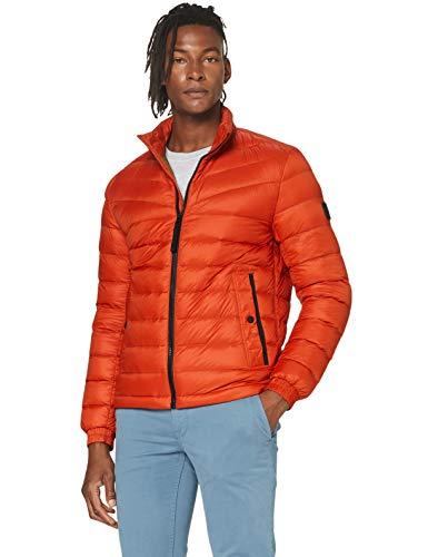 BOSS Herren Olido Jacke, Orange (Dark Orange 805), Medium (Herstellergröße: 48)
