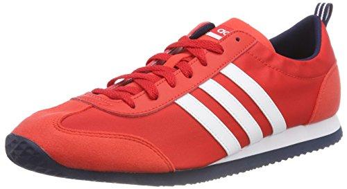 adidas Vs Jog, Scarpe Running Uomo, Rosso (Coralred/Ftwwht/Conavy 000), 40 2/3 EU