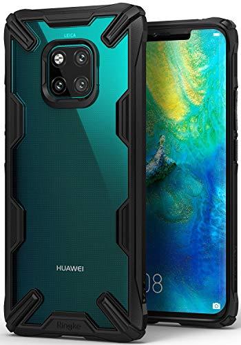 Capa Antichoque para Mate 20 Pro (Tela 6.39), RINGKE Fusion X [Híbrida][Air Cushion][Certificado MIL-STD 810G], Huawei Mate 20 Pro (Tela 6.39) (Black)