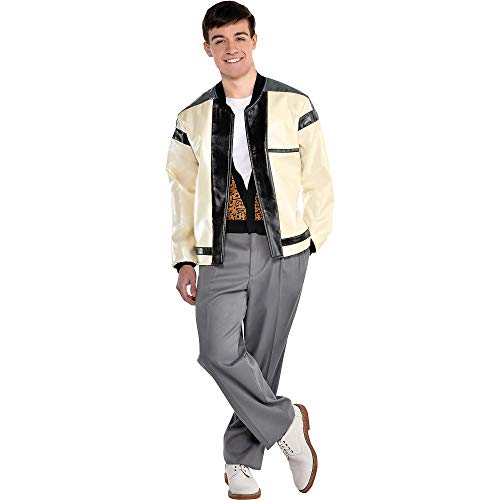 Men's Ferris Bueller's Day Off Costume. Jacket with Attached Vest.