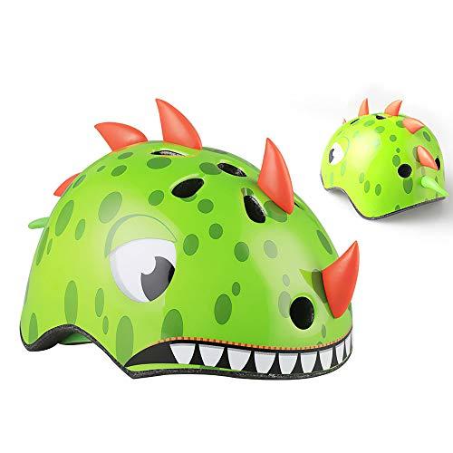 ConpConp Casco para Niños Casco de Animal de Dibujos Animados Casco de...
