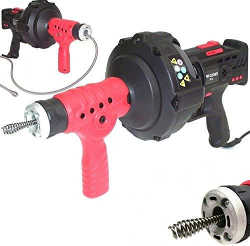 Rohrreinigungsgerät 300W Abflussreiniger 55931 Spirale 7mm x 7,6m Rohrreiniger Abfluss Rohrreinigungsmaschine AWZ