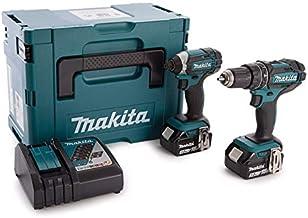 Makita Combi de broca y llave de impacto, 18V 2Piece Combo Kit Cordless LXT, 1pieza, dlx2131jx1