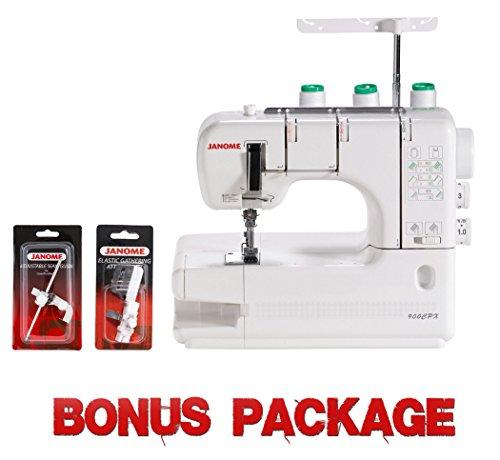 Buy Cheap Janome CoverPro 900CPX Portable CoverHem Serger Machine With Bonus