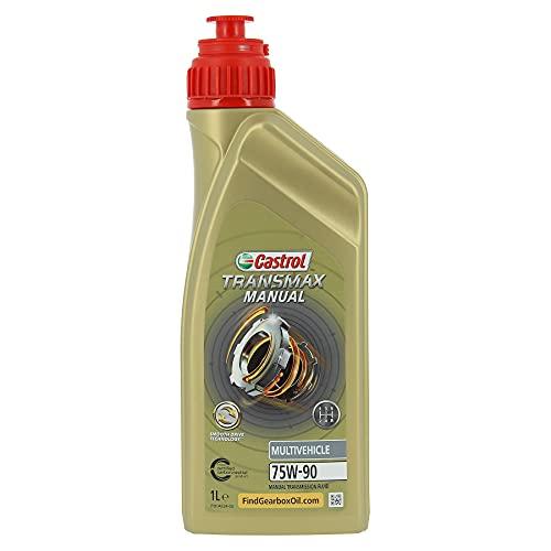 Castrol 467284 Syntrans Multivehicle 75w-90 Motor Oil, Transparent, 1 L