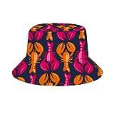 NA Sombrero unisex de algodón lavado para pesca de verano, viajes, para exteriores, carreras de caballos, Mujer, color Langosta caliente, tamaño...