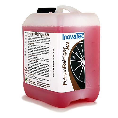 Inovatec Felgenreiniger AW - Anwendungsfertiger Felgenreiniger für optimale Resultate und strahlende Felgen - Im 10 Liter Kanister