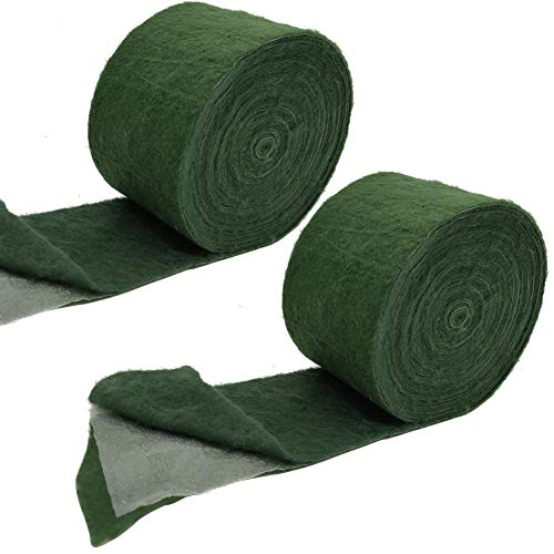 Tree 2 Rolls Protector Wraps 65 FT Winter-Proof Trunk Guard Plant Protector Wraps Keep Warm and Moisturizing