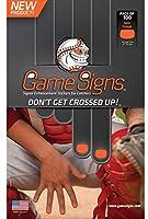 野球/ソフトボールキャッチャー 指の爪 明るい色 ゲームサイン ステッカー ピッチャー用 よりクリアに表示 ( 3色、100枚/パック )