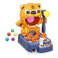 タイガー噛むゴーファーおもちゃ遊びマウスおもちゃ子供タイガー音楽赤ちゃん幼児教育パズル大型ゲーム機ノックマウスおもちゃ子供用