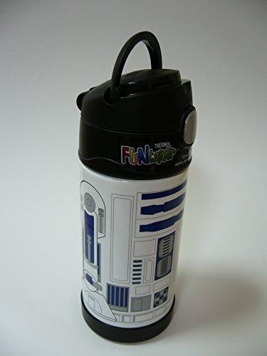 『THERMOS サーモス Star Wars スターウォーズ R2D2 R2-D2 ストローボトル 真空断熱 水筒 355ml』の3枚目の画像