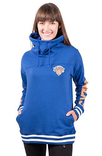 Ultra Game Damen FHL3589F Vlies, Kapuzenpullover, Sweatshirt, Trichterhals, Teamfarbe, X-Large