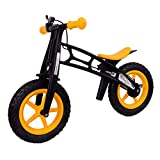 MammyGol Training Balance Bike Kids Sport Bicycle No Pedal Toddler Walking Buddy Excellent Present for Ages 2-5 Years (Yellow)