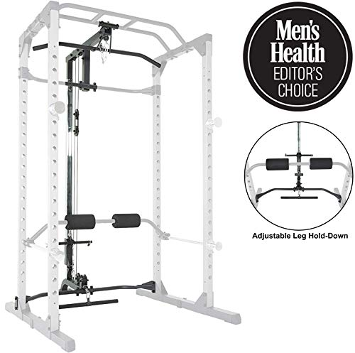 Fitness Reality 810XLT Super Max Power Cage with Optional Lat Pull-down Attachment and Adjustable Leg Hold-down, Lat Pull-down Attachment Only