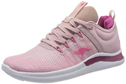 KangaROOS KG-Nimble, Damen Sneaker , Mehrfarbig (Dusty Lilac/Fuchsia 6186), 38 EU