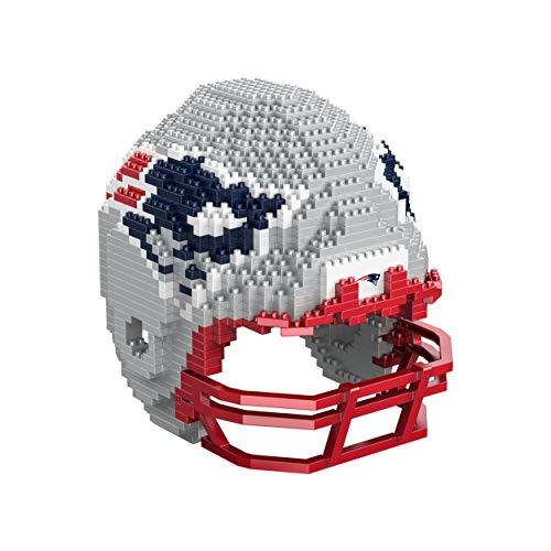 Forever Collectibles UK NFL 3D BRXLZ – Replik Helm, NEW ENGLAND PATRIOTS
