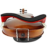 LMS Violin Shoulder Rest for 3/4 Size 4/4 Size, Adjustable Shoulder Rest for Violin, with Height Adjustable Feet Comfortable Foam Pad for Kids Adults (3/4-4/4)