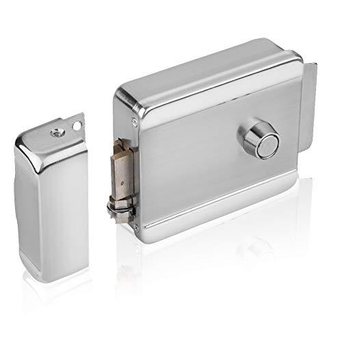 Serratura Elettrica di Sicurezza Universale - Smart Door Lock Serratura Intelligente Senza Chiavi per Kit di Accesso Alla Porta di Controllo Accessi