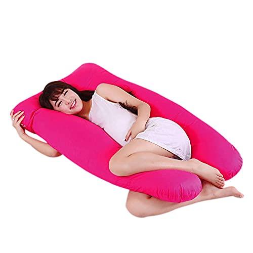 laoonl Nueva maternidad embarazada amigo brazo cuerpo dormir funda de almohada almohada almohada dormir forma de U funda de almohada almohada almohada