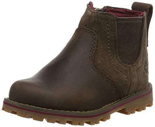 Timberland Unisex-Kinder Honeybrook Chelsea Boots, Braun (Dark Brown Connection 242), 39 EU