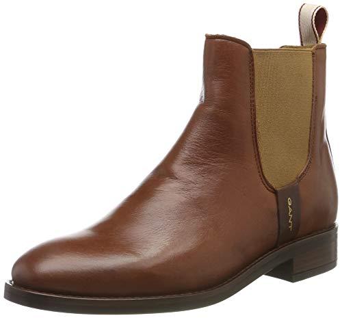 GANT Footwear Damen FAY Chelsea Boots, Braun (Cognac G45), 38 EU
