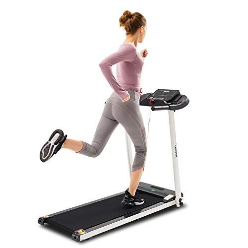 LONTEK Cinta de Correr Plegable Eléctrica con Pantalla LCD, Máquina Fitness Silenciosa...
