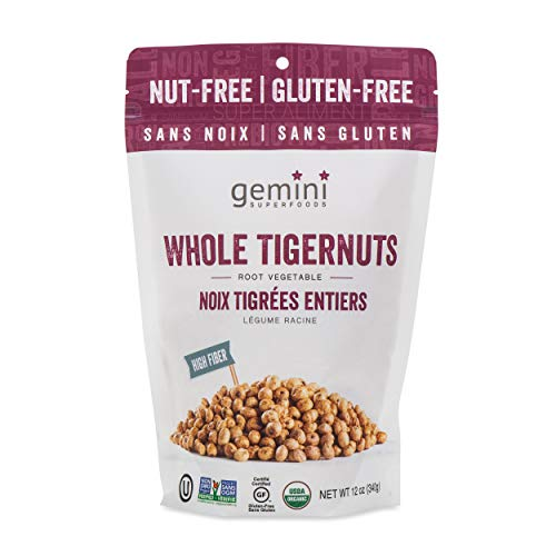 Organic Raw Tigernuts (12 oz)