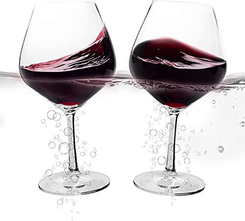 Copas de vino flotantes para la piscina: set de 2 copas de vino a prueba de 11,8 oz que flotan, versátilas tazas de plástico irrompibles con vástago tanto para uso en interiores como en exteriores en