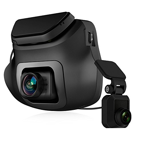 Z-Edge S3 1440P Front & 1080P Rear FHD Dual Dash Cam, Support 256GB max, Dash Cam Front and Rear with 150 Degree Wide Angle, G-Sensor, WDR Night Vision, 16GB Card Included, Loop Recording, G-Sensor