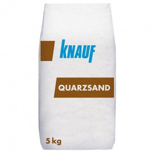 Knauf Quarzsand 5 kg 01 mm - 0,5 mm - als Spielsand oder Poolfilteranlagen & Aquarien einsetzbar - sehr fein