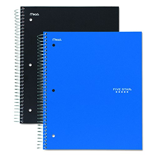 MEA06210 - Mead Five Star 3-Subject Notebook