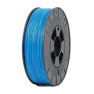 ICE Filaments ICEFIL1PLA007 PLA filament, 1.75mm, 0.75 kg, Bold Blue