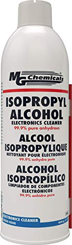 824 Alcohol Isopropílico Limpiador de Componentes Electrónicos