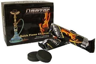 Deezer Charcoal Coals 33MM Regular Size - 100 Pieces