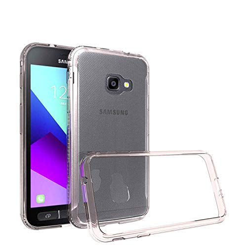 betterfon | Samsung Galaxy Xcover 4s SM-G398 Hülle Outdoor Transparent Cover Handy Tasche Silikon Hülle Schutzhülle Kristal TPU Silikon Schutzhülle für Samsung Galaxy Xcover 4 SM-G390