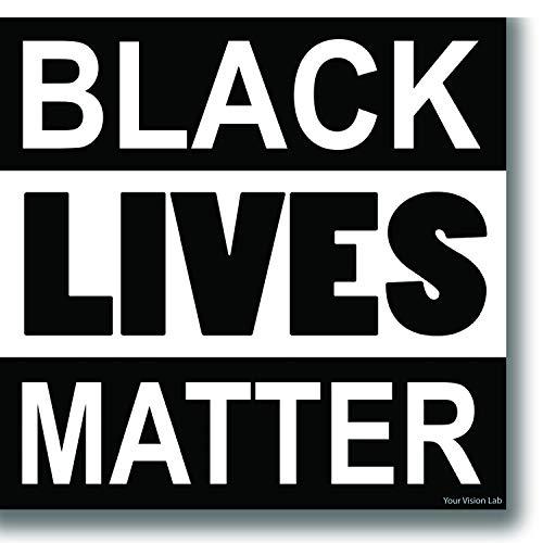 Black Lives Matter Sticker African American BLM Police Decal Doctors Teachers