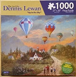 Karmin The Art of Dennis Lewan - 1000 Piece Jigsaw Puzzle 'Up in The Sky'