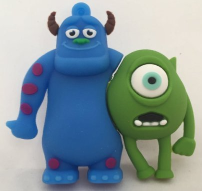 USB 16gb dúo Monstruos Verde y Azul Monsters, S.A.