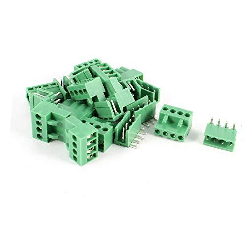 X-DREE 10 Satz 3,96 mm Pitch-Buchse, gebogener Stiftleisten-Leiterplattensteckverbinder (3cf2c956cd1a9dc909b58d415a091e19)