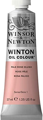 Winsor Newton Winton Oil Color Paint 37 ml Tube Pale Rose Blush product image