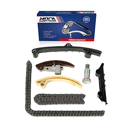 MOCA Engine Timing Chain Kit 98-02 for Volkswagen Golf Jetta & 99-00 for Volkswagen Eurovan 2.8L V6 12V SOHC VR6 AFP Engine