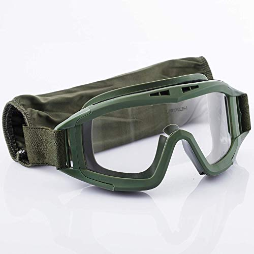 Airsoft Goggles,Tactical Safety Goggles Anti Fog Military Glasses for Paintball Riding Shooting Hunting Cycling