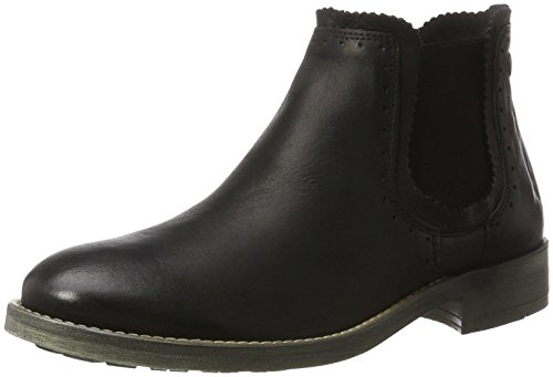 nobrand Damen Lit Chelsea Boots, Schwarz (Black), 36 EU