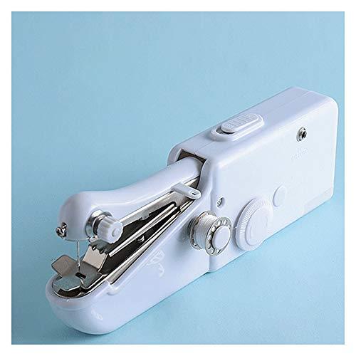 qlly Máquina de Coser Singer Mini máquina de Coser Multifuncional portátil,máquina de Coser portátil Ultraligera portátil,fácil de Usar y Practicar