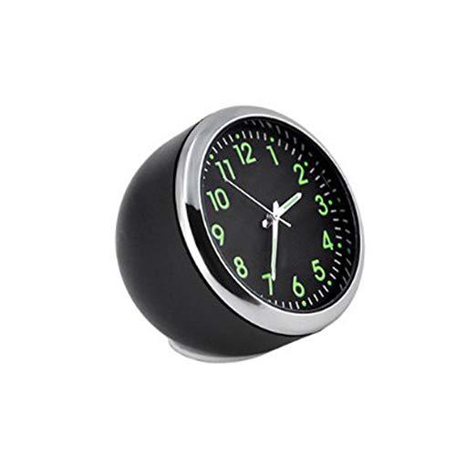Epaynetwork Leuchtende Quarzuhr Mini-Digitaluhr Universal-Taschenuhr zum Aufkleben für Auto-Boot-Bike nach Hause